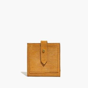 Madewell Wallet In Corduroy Suede